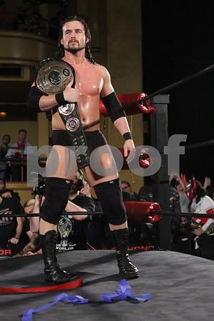 Adam Cole Ring of Honor photos