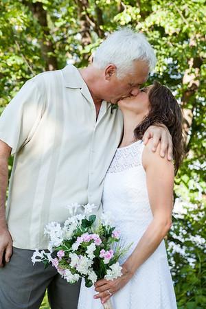 Wedding: Pam and Ian