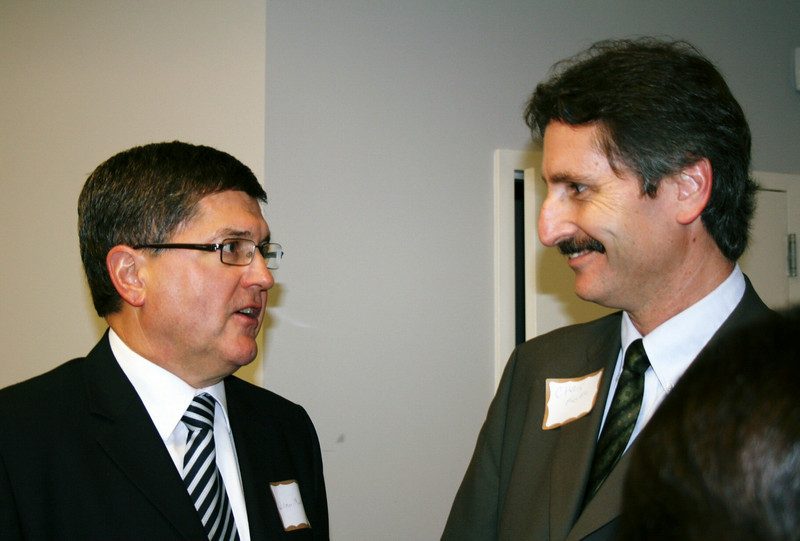 Wilmer Martin of Canada and Chris Fuller
