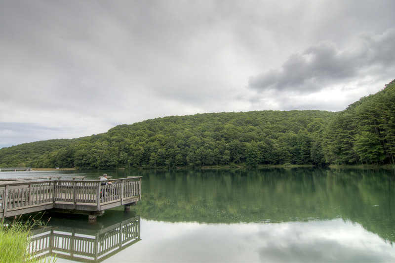 The view at the Upper Norton Reservoir in Norton, VA on Tuesday, July 30, 2013. Copyright 2013 Jason Barnette