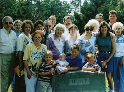 1995 Hunt Family Reunion, Arkansas