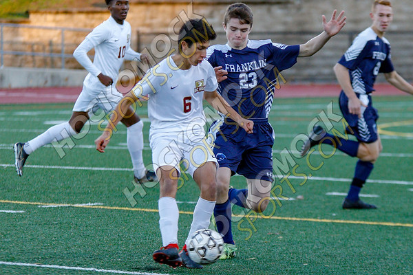 Franklin-BC High Boys Soccer - 11-03-18
