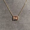'For You I Live' 18kt Rose Gold Cast Rebus Pendant, by Seal & Scribe 10