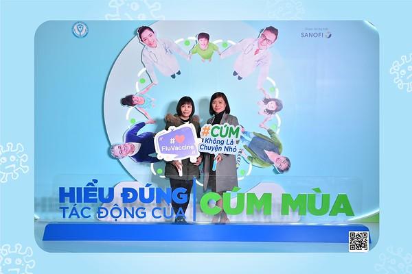 """Sanofi Vietnam   Hội thảo khoa h�c """"HIỂU �ÚNG T�C �ỘNG CỦA CÚM MÙA"""" tại Lotte Hotel Hà Nội   Chụp hình lấy li�n in ảnh lấy ngay Sự kiện tại Hà Nội   WefieBox Photobooth Vietnam"""
