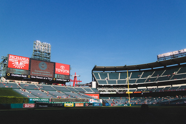 Anaheim Stadium - LA Angels of Anaheim