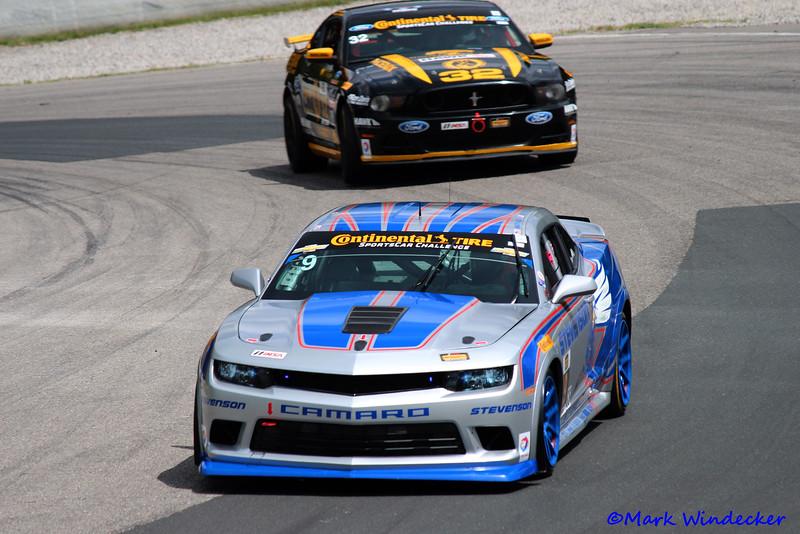 1st GS Andy Lally/Matt Bell Camaro z/28.R