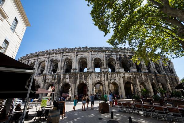 Arena of Nîmes, France