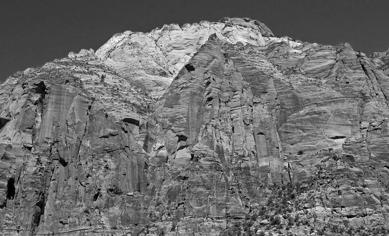 Zion National Park B&W