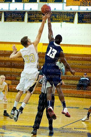 St Anthonys Vs All Hallows, Boys Varsity Basketball 01.08.11