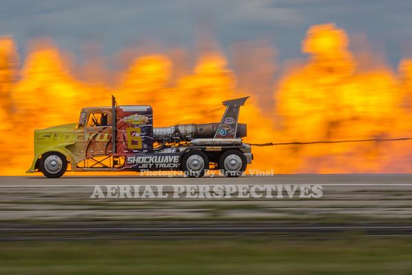 """""""Shockwave"""" Jet Truck"""
