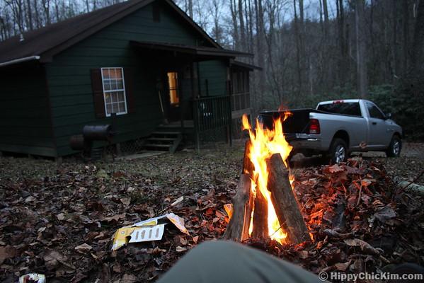 11.21-22.2015 Quick Break at the Cabin