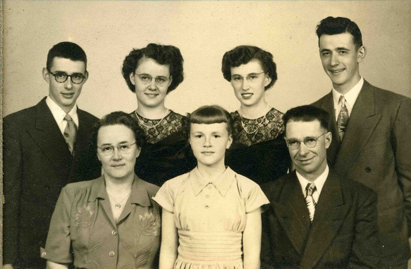 Reno and Elsie Herdrich Family