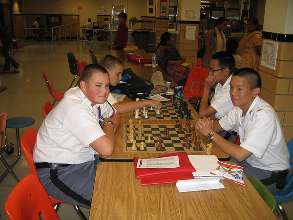 Chess Team takes first win