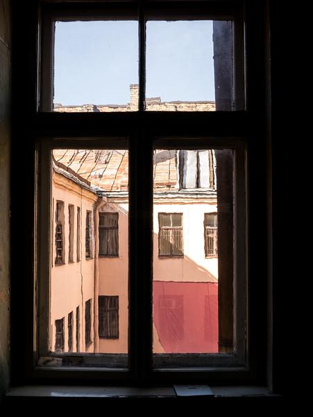 Inside the KGB Courtyard