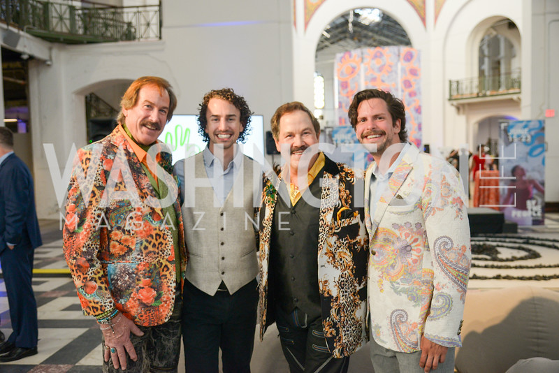 Tom Noll, Drew Zukosky, Alberto Ucles, Julian Patterson,, By The People, Arts Festival, Smithsonian Arts and Industries Building, June 14th, 2019.  Photo by Ben Droz.