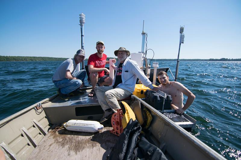 Buoy crew