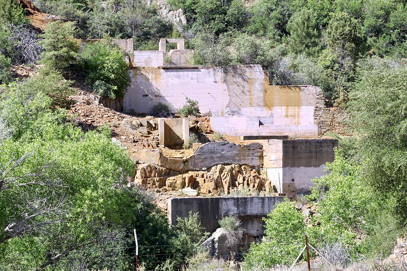 Verde Central Mine along State Route 89A (2020)