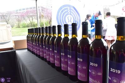 2019 Birmingham Wine 10K - After Race and Award