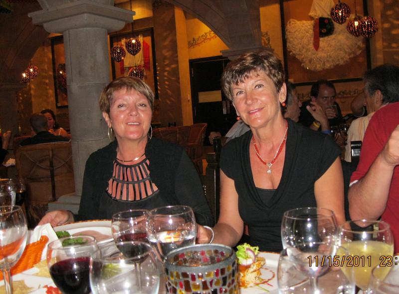 At El Patio restaurant - 3