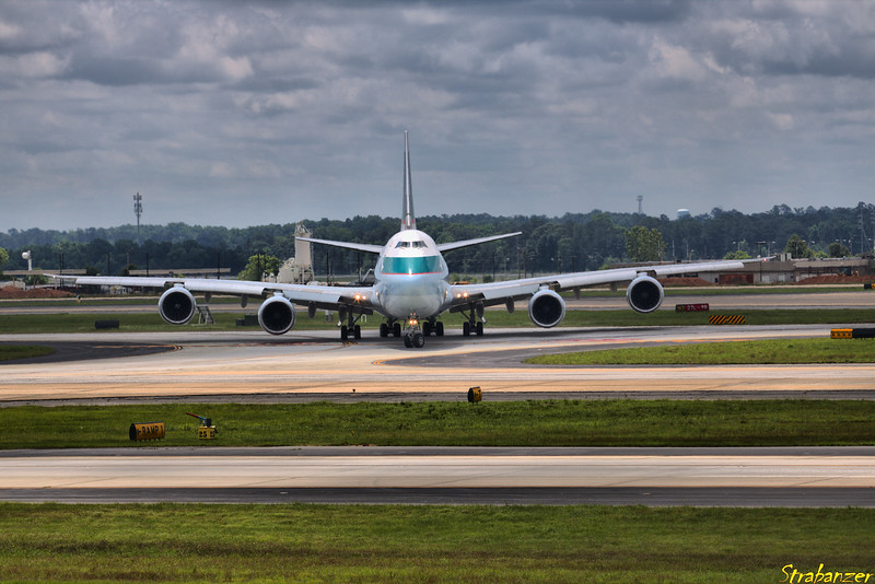 Boeing 747-867F  s/n 39241 B-LJD  Cathay Pacific