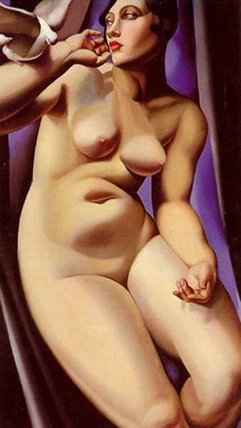 Nude with Dove