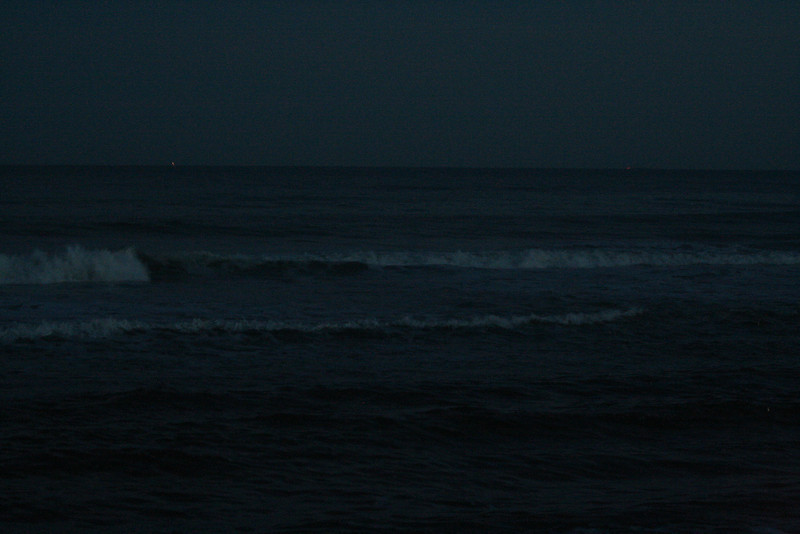 Night in Westhampton Beach, NY.