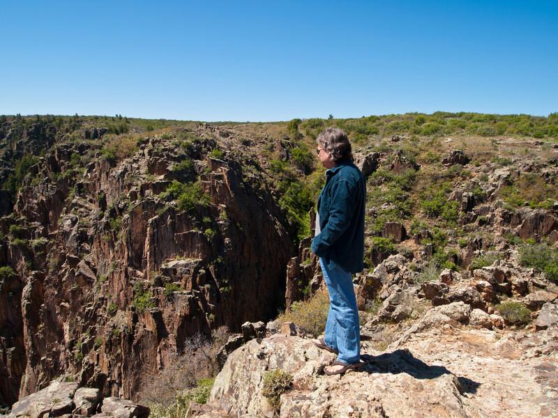 Roger at Black Canyon