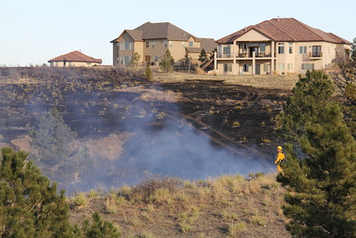 Cimarron Middle School Brush Fire