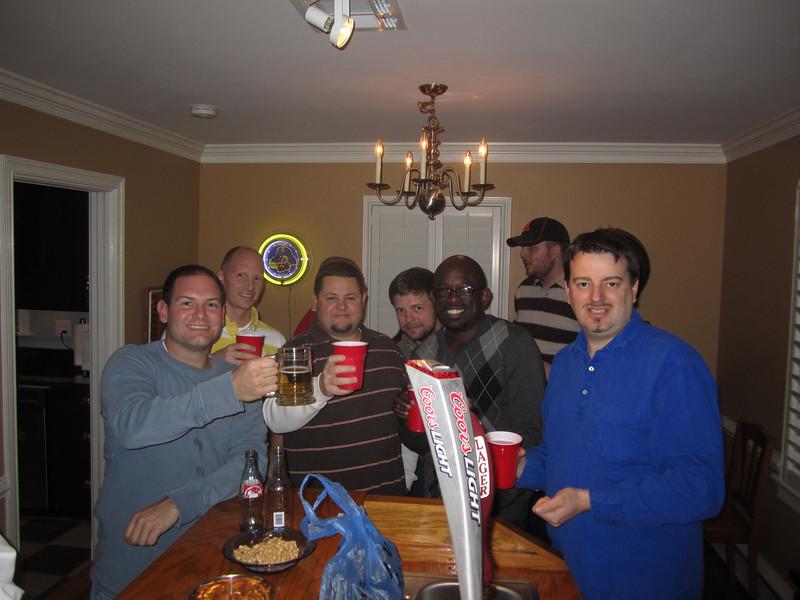 Jon, Stephen, Kedric, Kent, Todd, Patrick, Alan