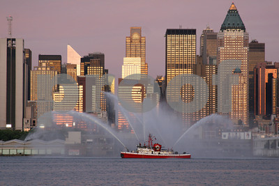 "N.Y.C. FIRE BOAT ""343""   Launched April,2009"