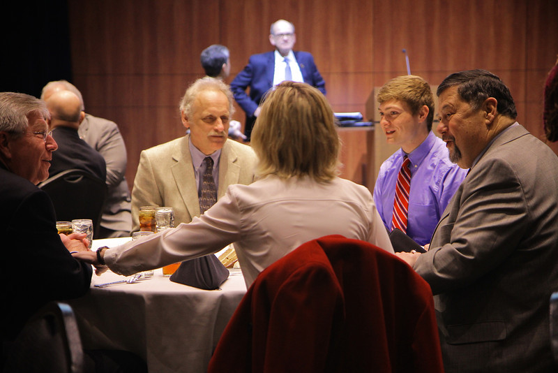 Trustee induction luncheon; Spring 2014.