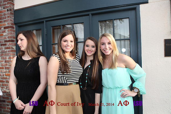 LSU Alpha Phi - Court of Ivy