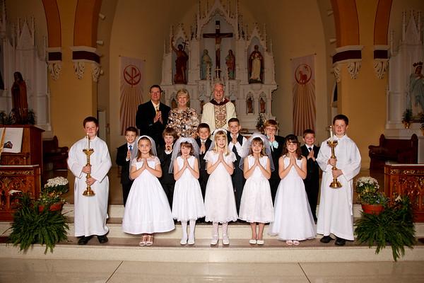 St. John's - First Communion 2011