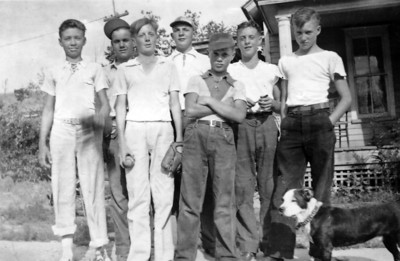Undated photo of some Chadron ball players!