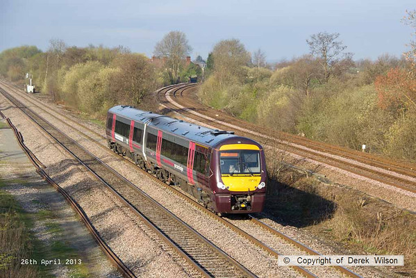 2013, 26th April, North Stafford Junction