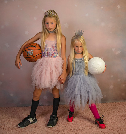 The Hutson Girls Sports/Glam Session