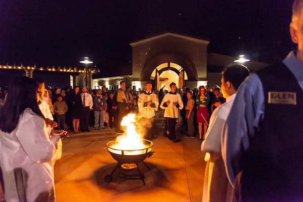 OLMC Easter Vigil 2018