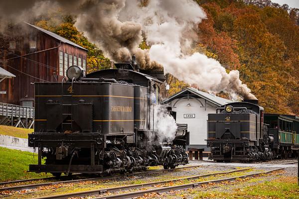 2020 Fall Cass Scenic Railroad