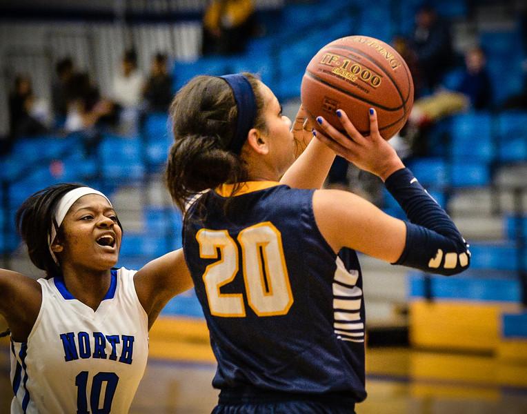 Basketball Girls Varsity vs  Lamar 01-21-14-21
