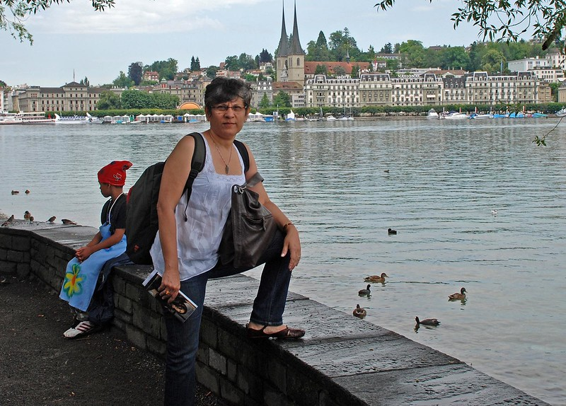 On the Banks of Lake Lucerne