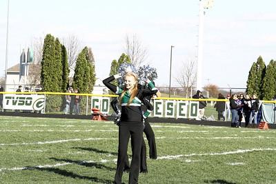 Maplettes & Cheerleaders Halftime Performances (11/9)