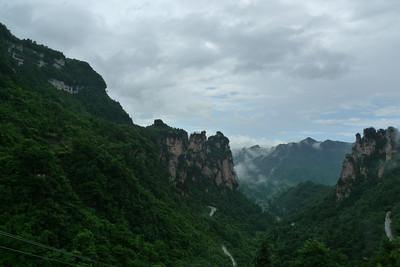 Tianzi Mountain Town 天子山镇