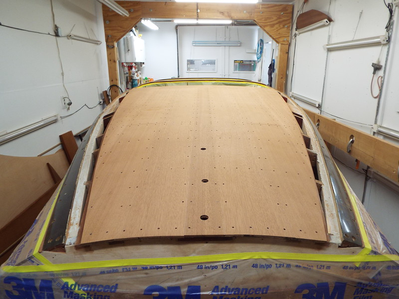 Rear deck planks roughed in. Now it is ready to start fairing by hand.