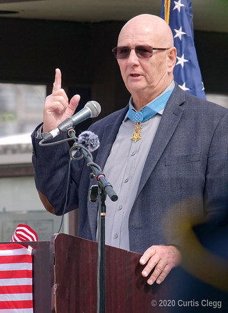 Congressional Medal of Honor Recipient Allen J. Lynch 9-17-20