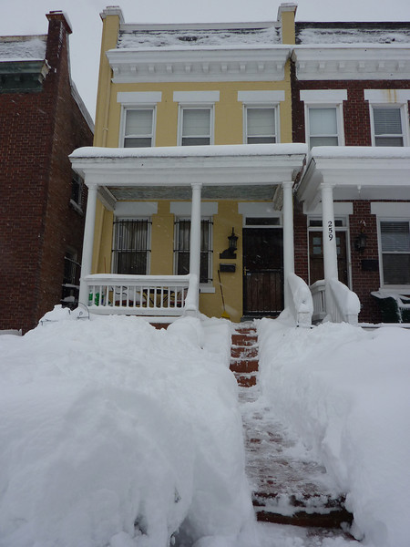 Our House under 20 Inches of Snow