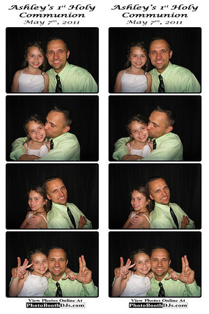 05/07/2011 Ashley's Communion PhotoStrips
