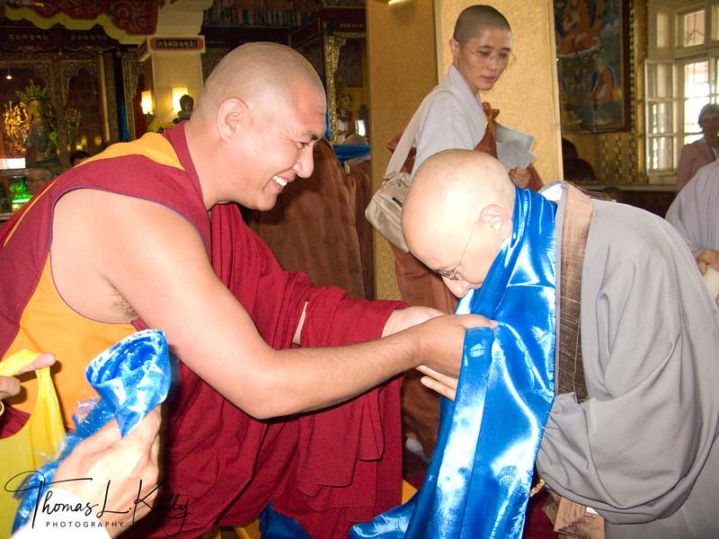 Sakyadhita International Conference on Buddhist Woman (2008) at Mamba Datsun. Ullaanbatar, Mongolia.