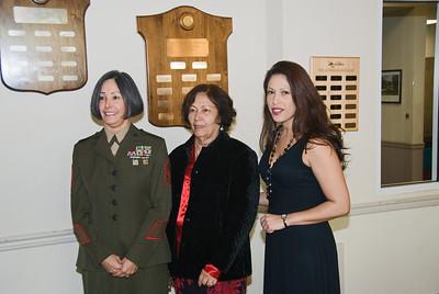 Retirement Ceremony - MSgt.  Alicia Bank, USMC