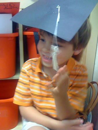 Zeuz's Preschool Graduation: 6/11/08