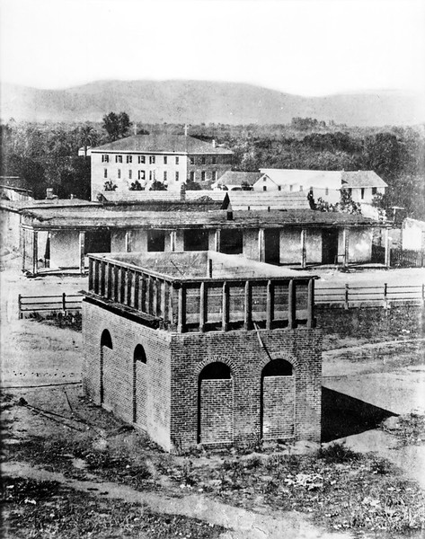 1890, City Water Reservoir in Plaza